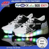 Buy cheap Newest Hot Style Blinking 1 Wheel Roller Shoes LED, Kids Light Up Shoes from wholesalers