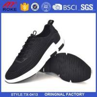 China Men's Lightweight Fashion Mesh Sneakers Breathable Athletic Casual Sports Running Shoes on sale