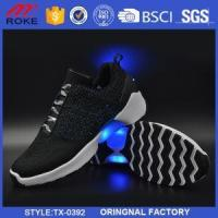 China LED Sport Shoes Wholesale USB Charging Shoes for Men And Women on sale