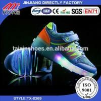 Roller Skating Shoes Hot Sale Newest Children Two Skates Shoes Roller Wheels Shoes Manufactures