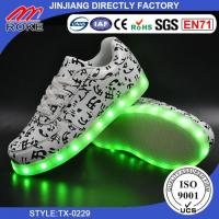 2017 Party Cheer Dancing Shoes Flashing Light Up Led Zapatillas Manufactures
