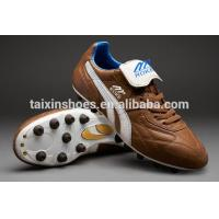 2014 Latest Design Soccer Shoes for Sale Comfortable Men's Soccer Shoes Manufactures