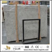 Natural Grey Cream Marble Stone Slabs For Kitchen And Bathroom Tiles Manufactures