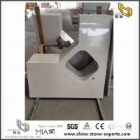China Best Place to Buy White Color Quartz Kitchen Countertop from Quartz Brand Factory on sale