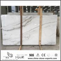 New Exclusive Castro White Marble Slabs for Wall / Floor Decor with Cheap Cost Manufactures