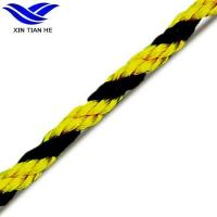 Buy cheap 3 Strand Yellow and Black Warning Tiger Warning Rope from wholesalers