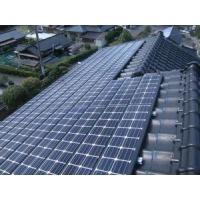 Componets for Tile Roof Solar PV Mounting System PV Module for Tile Roof Install