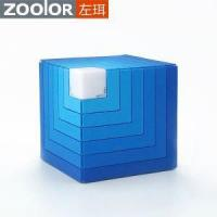 Innovative Silicone Cubic Rainbow Bluetooth Speaker with LED Light Manufactures