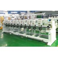 10 Head Embroidery Machine With 10 Inch Lcd Display Manufactures