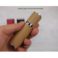 China Leather travel spray bottles 10ML on sale