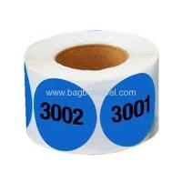 supermarket shelf numbered adhesive labels Manufactures