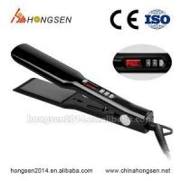 China pure ceramic heating plate hair flat iron factory price best price hair straightener on sale