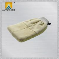 China Car Wash Mitt Genuine Sheepskin Wash Mitt on sale