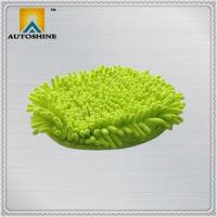 China Car Wash Mitt Microfiber Car Wash Gloves with Pocket on sale