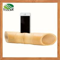 Bamboo Portable Mobile Phone Speaker For Samsung Or IPhone Manufactures