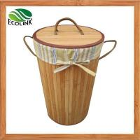 China Bamboo Laundry Basket / Dirty Clothes Basket on sale