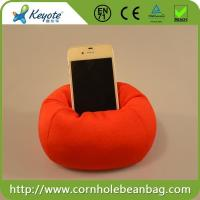 China Cell Phone Holder Bean Bag Chair on sale