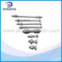 Carrige / Square / Hex Galvanized Stell Bolt Manufactures