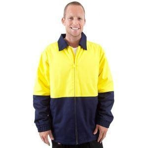 Quality Cotton Work Flame Retardant Antistatic Safety Jacket for Men for sale