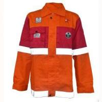 Custom Reflective Safety Cotton Fire Retardant Jacket for Men Clothing Manufactures