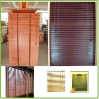 China Motorized Venetian Blinds Bamboo Material on sale