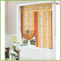 China Traditional roman blinds curtains for sales on sale
