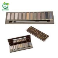 China Cosmetic Packaging Mineral makeup 12 colors Bake Dry Wet powder eyeshadow palette on sale