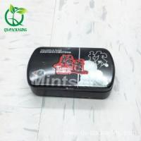 Tin Box Food grade small mint tin box with plastic inner cover Manufactures