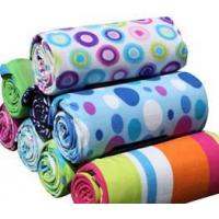 fleece picnic blankets with PEVA back Manufactures