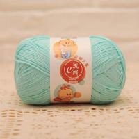Wholesale Bamboo and Cotton Blend Baby Weight Hand Knitting Wool Yarn Ball