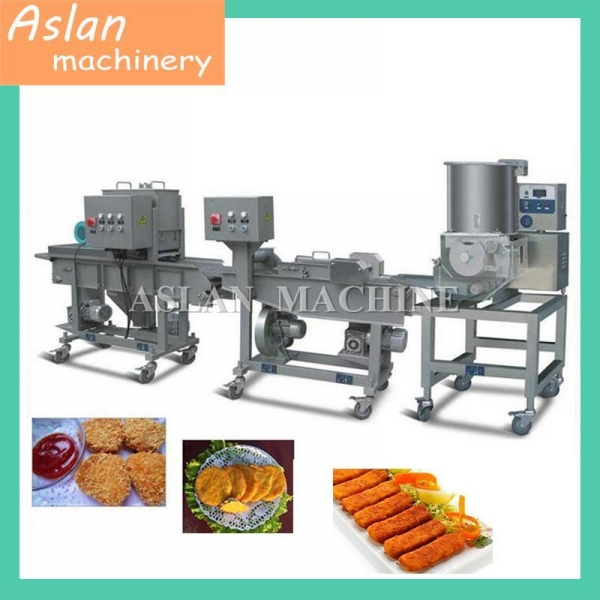 Quality Multifunctional Automatic Chicken Fish Meat Patty Forming Machine for sale