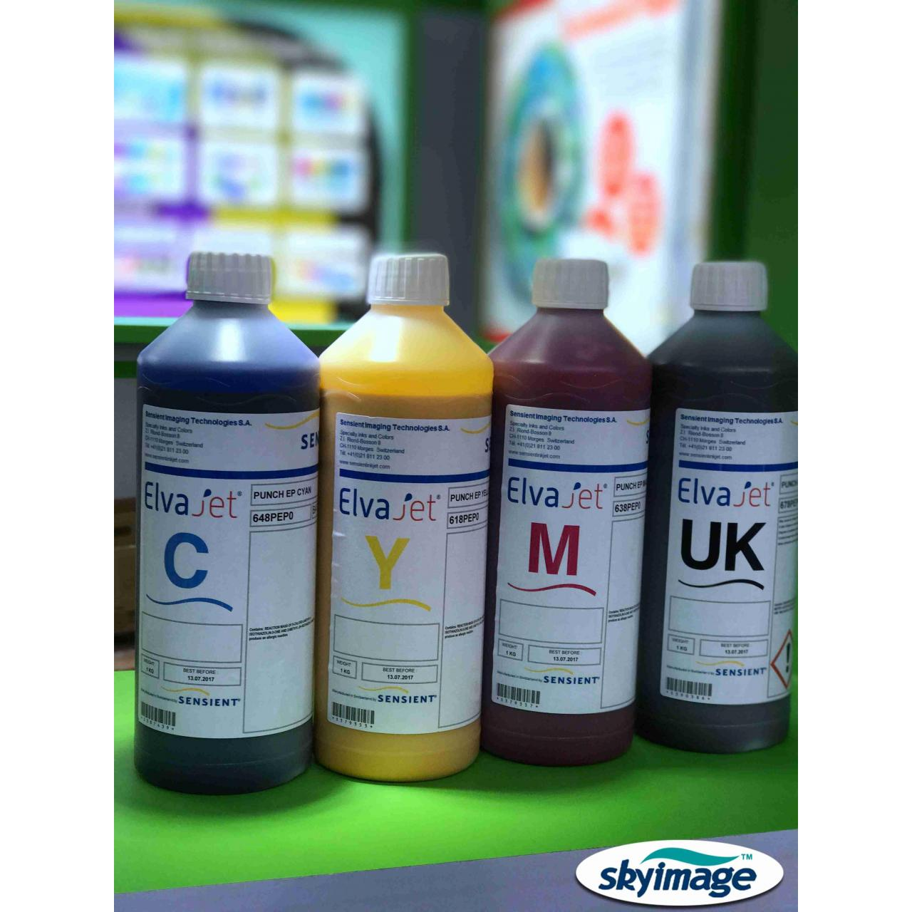 European Sensient ElvaJet Punch Sublimation Ink Manufactures