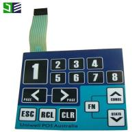 China Embossed Keys Non-Tactile Type Membrane Switch Keypad Keyboard In China on sale