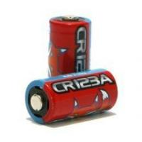 Buy cheap 2 lithium CR123 batteries. from wholesalers