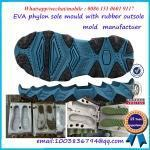 EVA material injected midsole with rubber piece mold maker Manufactures
