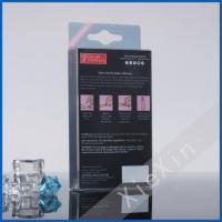 offset printing attractive plastic clear folding cosmetics box Manufactures