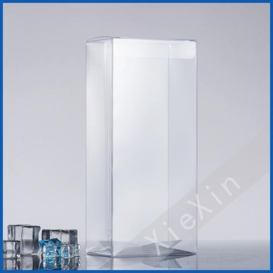 Quality Auto Bottom easy to fold PVC plastic clear box for sale