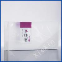 customized rectangle plastic clear box for black tea Manufactures
