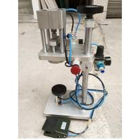 Stainless steel manual sealing machine/sealing machine for perfume and glass bottles