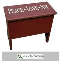 FURNITURE Mitten Box with Lettering Manufactures