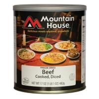 Mountain House #10 Diced Beef Manufactures