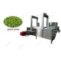 Commercial Continuous Green Peas Frying Machine For Sale Manufactures