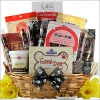 China Pawsitively Delicious Doggy Gift Basket on sale