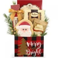 Merry Christmas Dog and Owner Gift Basket Manufactures