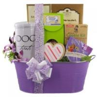 Valentine Friends Forever Dog and Owner Gift Basket Manufactures