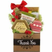 China Many Thanks Dog and Owner Holiday Gift Basket on sale