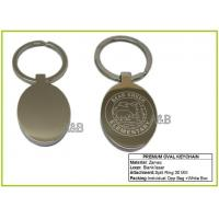 Keychain Premium Oval Keyring Manufactures