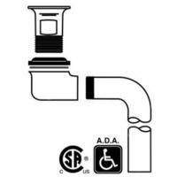 China 155WC-ECO CP ECO-LINE CAST BRASS WHEELCHAIR LAV STRAINER on sale