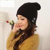 Solid Color Bluetooth Beanie Winter Hat
