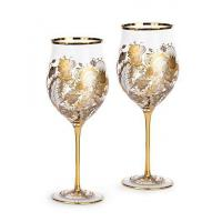 China Cara Floral Vine Wine Glasses - Set of 2 on sale